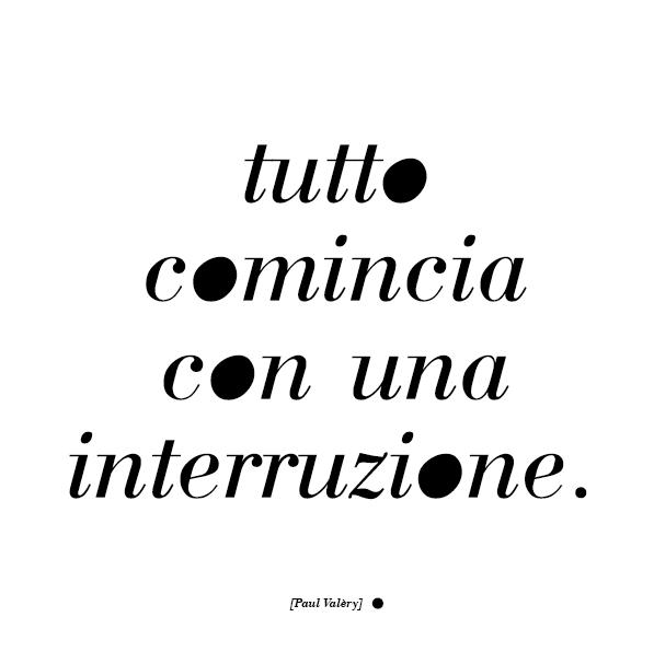 interruzione